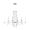 This item: Sarella White 10-Light Chandelier with Clear Crystal from Swarovski