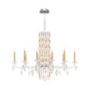This item: Sarella Heirloom Gold 10-Light Chandelier with Clear Crystal from Swarovski