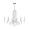 This item: Sarella Stainless Steel 10-Light Chandelier with Clear Heritage Crystal