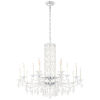 This item: Sarella White 41-Inch 15-Light Chandelier with Clear Crystal from Swarovski