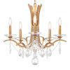 This item: Vesca French Gold Five-Light Chandelier