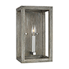 This item: Moffet Street Washed Pine Seven-Inch One-Light Bath Sconce
