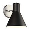 This item: Towner Brushed Nickel Seven-Inch One-Light Bath Sconce