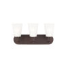 This item: Kerrville Bronze Three-Light Bath Vanity without Bulbs