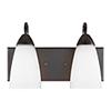 This item: Seville Burnt Sienna 14-Inch Two-Light Bath Vanity