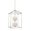 This item: Perryton Satin Bronze Eight-Light Lantern Pendant
