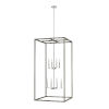 This item: Moffet Street Washed Pine Eight-Light Pendant