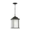 This item: Kent Oxford Bronze One-Light Outdoor Pendant with Satin Etched Shade