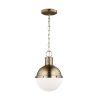 This item: Hanks Satin Bronze Mini Pendant