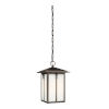 This item: Tomek Antique Bronze One-Light Outdoor Pendant with Etched White Shade