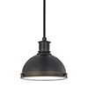 This item: Pratt Street Metal Autumn Bronze 10-Inch LED Mini Pendant