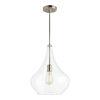 This item: Mora Brushed Nickel One-Light Pendant