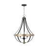 This item: Davlin Smith Steel Three-Light Pendant