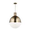 This item: Hanks Satin Bronze 16-Inch Pendant