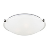 This item: Brushed Nickel 12-Inch LED Flush Mount