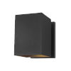 This item: Pohl Black Seven-Inch One-Light Outdoor Wall Sconce
