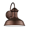 This item: Fredricksburg Weathered Copper 10-Inch LED Outdoor Wall Sconce