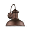 This item: Fredricksburg Weathered Copper Large LED Outdoor Turtle Friendly Wall Lantern