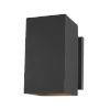 This item: Pohl Black Nine-Inch One-Light Outdoor Wall Sconce
