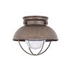 This item: Sebring Weathered Copper 11-Inch LED Outdoor Flush Mount