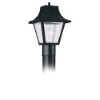 This item: Clear One-Light Outdoor Post Lantern