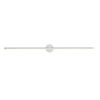 This item: Purolinear 360 Polished Chrome 49-Inch Two-Light Double Linear LED Wall Bar