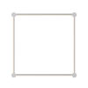 This item: Purolinear 360 Polished Chrome 25-Inch Four-Light Square LED Wall Bar