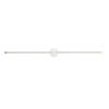 This item: Purolinear 360 Satin Chrome 49-Inch Two-Light Double Linear LED Wall Bar