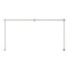 This item: Purolinear 360 Satin Chrome Four-Light Double N LED Wall Bar