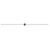 This item: Purolinear 360 Satin Black 97-Inch Two-Light Double Linear LED Wall Bar