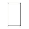 This item: Purolinear 360 Satin Black 25-Inch Two-Light Rectangle LED Wall Bar