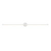 This item: Purolinear 360 Satin White 49-Inch Two-Light Double Linear LED Wall Bar