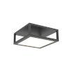 This item: Cubix Satin Black One-Light LED Flush Mount