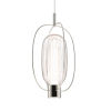This item: Friso Polished Nickel Two-Light LED Pendant