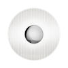 This item: Meclisse Polished Chrome LED Sconce with Etched Glass