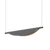 This item: Tela Satin Black LED Pendant