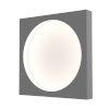 This item: Vuoto Dove Gray 15-Inch LED Sconce