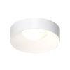 This item: Ilios Satin White 18-Inch LED Flush Mount