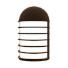 This item: Lighthouse Textured Bronze Short LED Sconce
