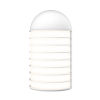 This item: Lighthouse Textured White Big LED Sconce