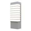 This item: Tawa Textured Gray 13-Inch Slim LED Sconce