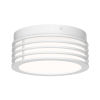 This item: Marue Textured White 8-Inch LED Flush Mount