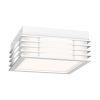 This item: Marue Textured White 8-Inch Square LED Flush Mount