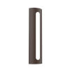 This item: Porta Textured Bronze 18-Inch LED Sconce
