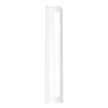 This item: Porta Textured White 24-Inch LED Sconce