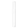 This item: Porta Textured White 36-Inch LED Sconce