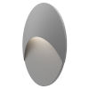 This item: Ovos Textured Gray Oval LED Sconce