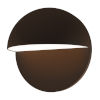 This item: Mezza Cupola Textured Bronze 8-Inch LED Sconce