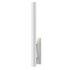 This item: Flue Textured White 30-Inch LED Sconce