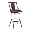 This item: Brisbane Brown and Auburn Bay 26-Inch Counter Stool